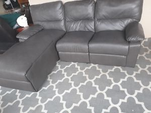 SOFA GRIS RECLINABLE ..ENTREGA DISPONIBLE for Sale in Hollywood, FL