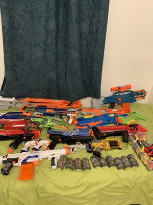 Nerf guns for sale for Sale in Ruskin, FL