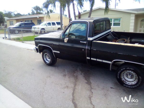 Chevy short bed c10
