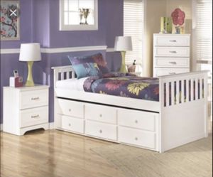Twin Trundle Bed frame for Sale in Cosmopolis, WA