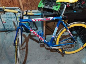 Us postal service edition trek fixed gear carbon for Sale in Littleton, CO