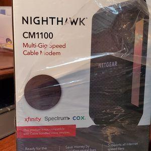 Netgear Nighthawk CM1100 docsis 3.1 cable modem Multi Gig Speed for Sale in Phoenix, AZ