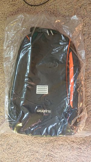 Gigabyte (limited edition gaming backpack) for Sale in Los Angeles, CA