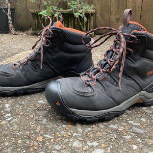 KEEN Men's Gypsum II Mid Waterproof Hiking Boot - Black Orange - Size: 12 for Sale in Nashville, TN
