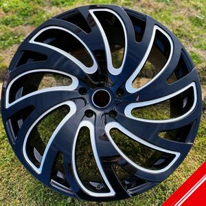 "Brand New 24"" LA23 6x135 / 6x139.7 Black Milled Wheels Wheels for Sale in Miami, FL"