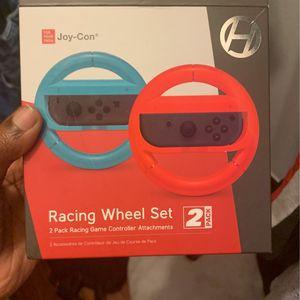 Nintendo Switch Racing Wheel Set for Sale in Baton Rouge, LA