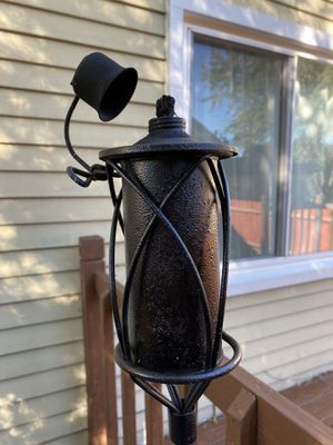 Tiki Torch Set of 2 for Sale in Roselle, IL