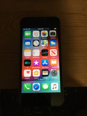 I phone 5s unlocked for Sale in West Haven, CT