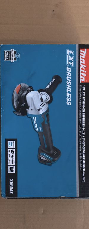 Makita brushless grinder tool only for Sale in Fremont, CA
