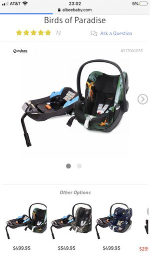 Caybex car seat for Sale in Fort Lauderdale, FL