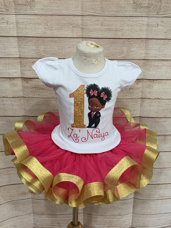 Boss baby birthday outfit