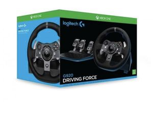 G920 Logitech steering wheel brand new never open Xbox One for Sale in Rancho Cucamonga, CA