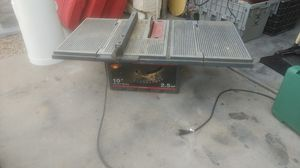 Sears Craftsman table saw 10-inch 2.5 horsepower works and runs great for Sale in Glendale, AZ