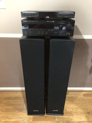 Polk audio system and more ! for Sale in Alexandria, VA