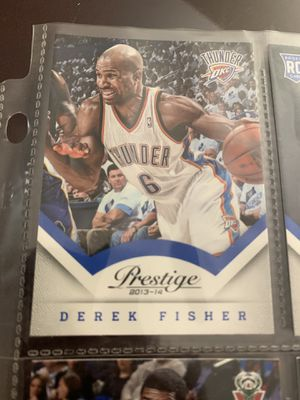 Panini basketball cards Derek Fisher for Sale in West Columbia, SC