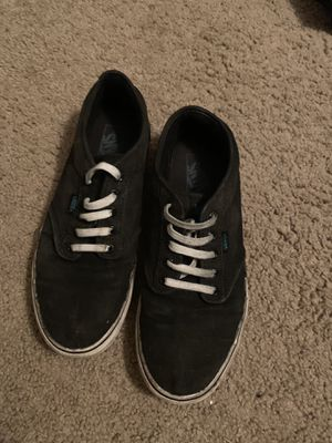 Black Vans, Used, Size 10 for Sale in Tallahassee, FL