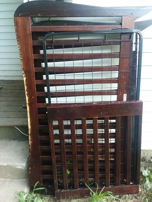 Wooden Baby Crib for Sale in Saint Joseph, MO
