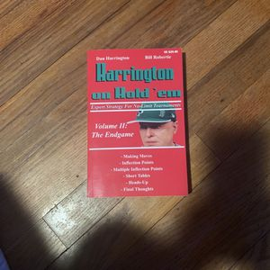 Harrington On Hold'em Volume 2 for Sale in Miami, FL