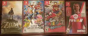 Nintendo switch 4 pack games for Sale in Ramsey, NJ
