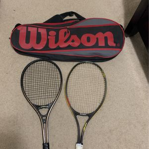 Tennis Rackets And Bag for Sale in Portland, OR