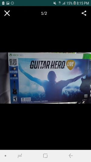 Guitar hero live. for Sale in San Diego, CA