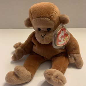 Ty Beanie Original Baby Bongo The Monkey Retired 1996 for Sale in Fullerton, CA