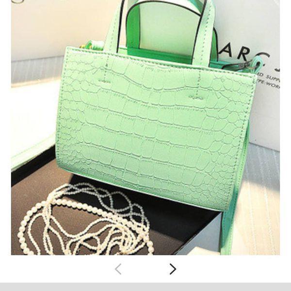 Green white blue