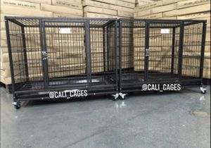 "Dog pet cage kennel size 37"" medium set of 2 new in box for Sale in La Puente, CA"