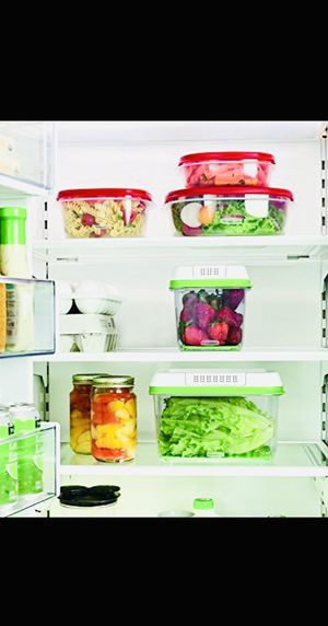 NEW In Box — Produce Fresh Food Kitchen Storage Containers — Orig $53.99 — PRICE FIRM ✅ SAME DAY PICK UP REQUIRED‼️ for Sale in Dallas, TX