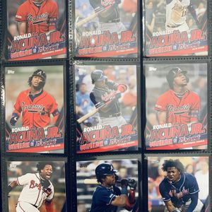 Ronald Acuna Jr. Highlight Set Topps 2020 Update Series for Sale in Vista, CA