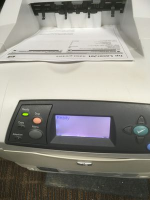 HP 4350N Workgroup Laser Printer with New OEM Toner for Sale in Dallas, TX