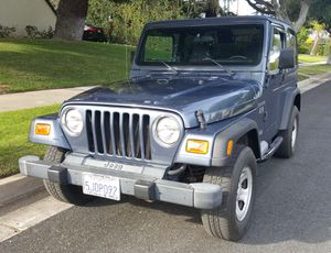 2002 Jeep Wrangler TJ - 4.0 AMC 6 cylinder - 76,983 Miles for Sale in Pasadena, CA
