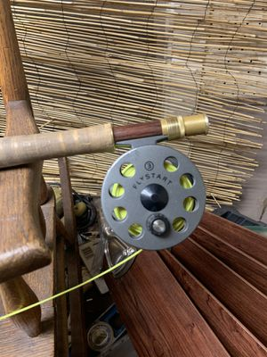 Two high end fly fishing rods and reels with case for Sale in Phoenix, AZ
