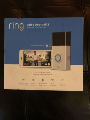 Ring video door bell 2 for Sale in Sunnyvale, CA