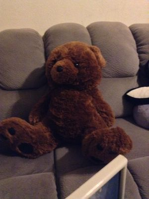 Big stuffed teddy bear for Sale in Peoria, AZ