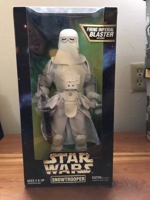 Star Wars 1997 Action Collection Snowtrooper 12 Inch Action Figure for Sale in Bremerton, WA