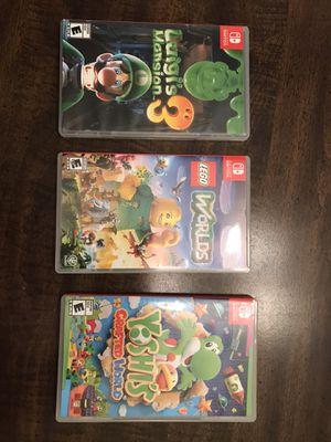 Nintendo Switch Games! for Sale in Barnesville, GA