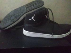 Men size 8.5 black/white Jordan's 1 flight 5 prem for Sale in Detroit, MI