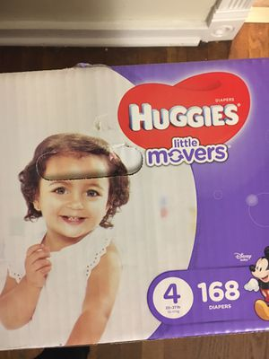 Huggies Diaper size 4 for Sale in Aliquippa, PA