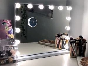Hansong Vanity Makeup Mirror with Lights,Hollywood Lighted Mirror with 14 pcs Dimmable Led Bulbs for Dressing Room & Tabletop Mirror or Wall Mounted, for Sale in Los Angeles, CA