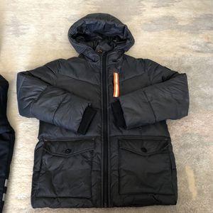 Jacker Plus Pants: Michael Kors Boys Puffer Jacket, Size 7. Plus Warm Winter Pants With Fleece Insert (Gap), Size 8. for Sale in Brooklyn, NY