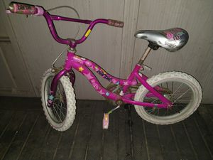 """Nice pink bicycle. 16"""" tire. Hand brake and pedal brake. Looks new for Sale in Montclair, CA"""