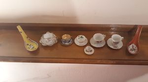 Vintage rare Mini tea cups and saucers for Sale in Lee's Summit, MO