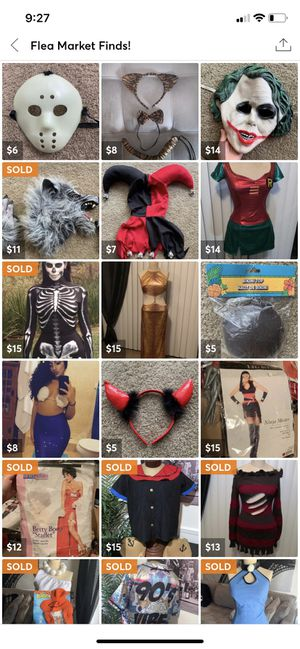 Assorted Halloween Costumes for Sale in Brandon, FL