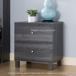 NEW IN THE BOX, CLEARANCE, DISSTRESSED GREY NIGHTSTAND, SKU#TCY5203. for Sale in Huntington Beach,  CA