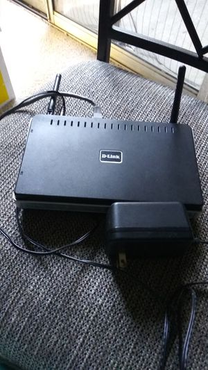 D link router in great condition for Sale in Dallas, TX