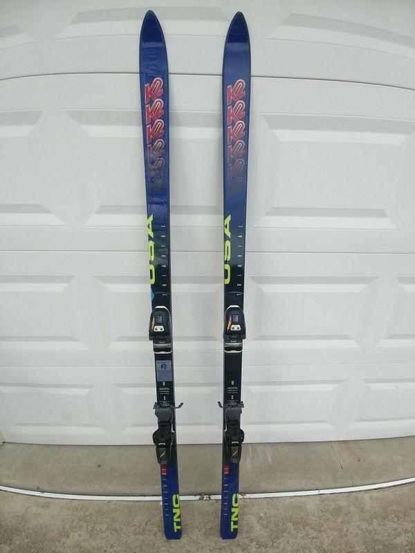 vintage K2 Sidecut 8.1 TNC skis