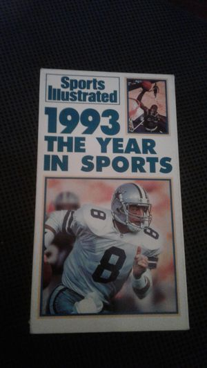 1993 The Year in Sports. VHS. USED for Sale in Los Angeles, CA