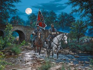 "A John Paul Strain- ""Gettysburg Moon"" for Sale in Harpers Ferry, WV"