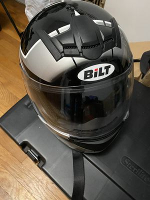 Bilt motorcycle helmet size Adult M for Sale in Morrow, GA